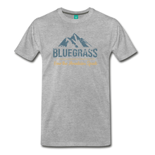 Load image into Gallery viewer, Men's Bluegrass Mountains Speak T-Shirt - heather gray
