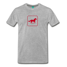 Load image into Gallery viewer, Men's Horse Icon T-Shirt - heather gray