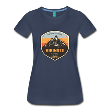 Load image into Gallery viewer, Women's Hiking T-Shirt - navy
