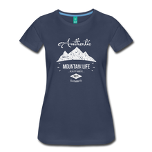Load image into Gallery viewer, Women's Authentic Mountain Clothing Co. T-Shirt - navy