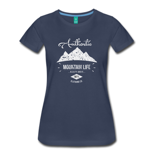 Women's Authentic Mountain Clothing Co. T-Shirt - navy