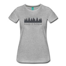 Load image into Gallery viewer, Women's Keep It Simple T-Shirt - heather gray