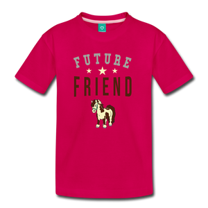 Kids' Future Friend T-Shirt - dark pink
