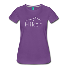 Load image into Gallery viewer, Women's Hiker T-Shirt - purple