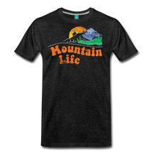Load image into Gallery viewer, Men's 60s Mountain T-Shirt - charcoal gray