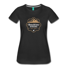 Load image into Gallery viewer, Women's Smokies Strong T-Shirt - black