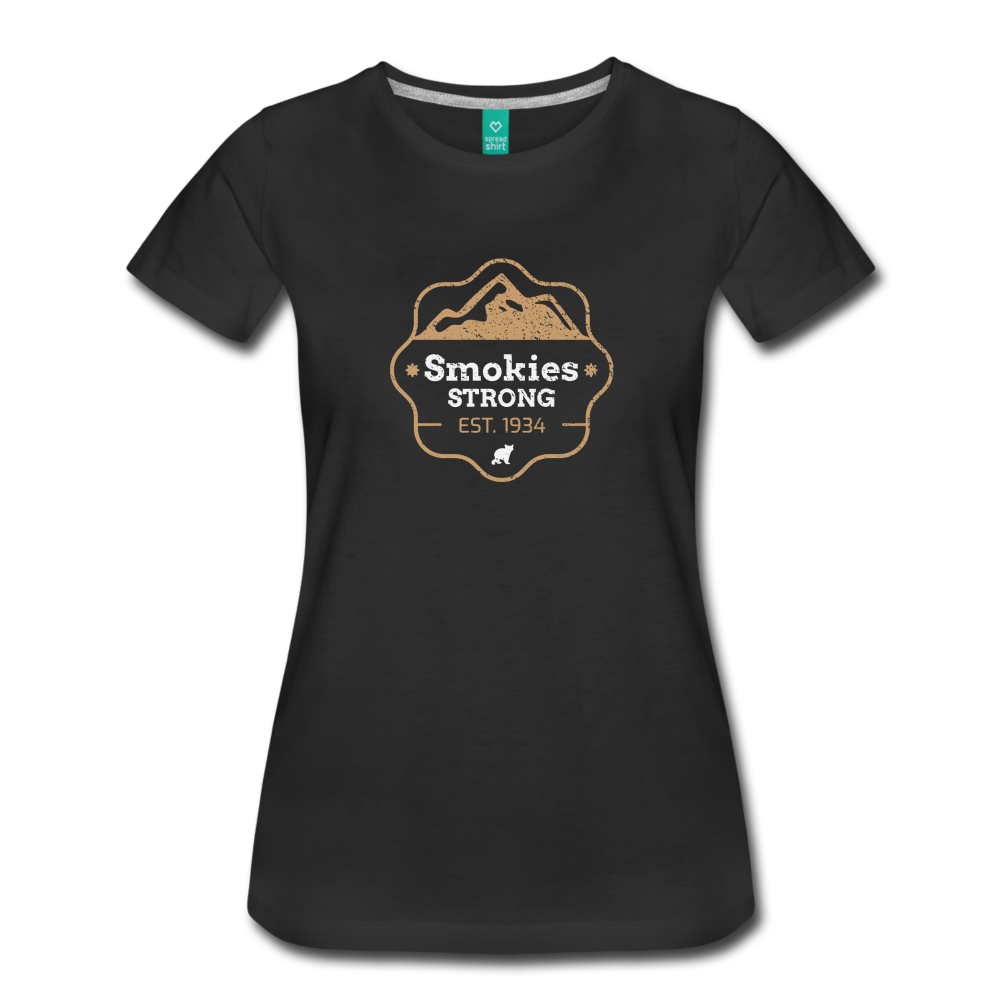 Women's Smokies Strong T-Shirt - black