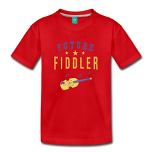 Load image into Gallery viewer, Toddler Future Fiddler T-Shirt - red