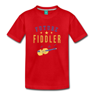 Toddler Future Fiddler T-Shirt - red
