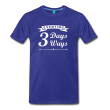 Load image into Gallery viewer, Men's 3 Days 3 Ways T-Shirt - royal blue