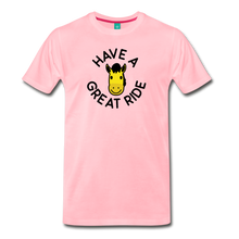 Load image into Gallery viewer, Men's Have a Great Ride T-Shirt - pink