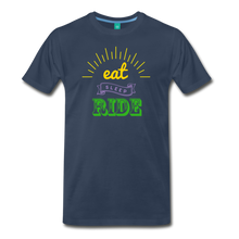 Load image into Gallery viewer, Men's Eat Sleep Ride T-Shirt - navy