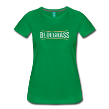 Load image into Gallery viewer, Women's Bluegrass T-Shirt - kelly green