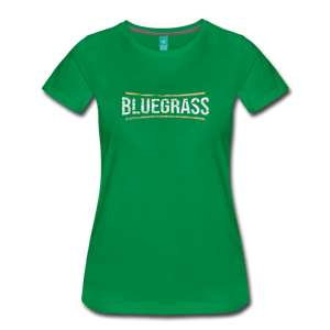 Women's Bluegrass T-Shirt - kelly green