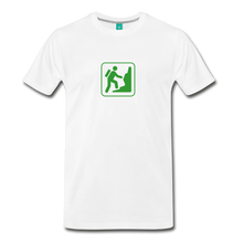 Load image into Gallery viewer, Men's Climb Icon T-Shirt - white