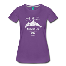 Load image into Gallery viewer, Women's Authentic Mountain Clothing Co. T-Shirt - purple