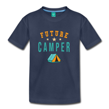 Load image into Gallery viewer, Toddler Future Camper T-Shirt - navy