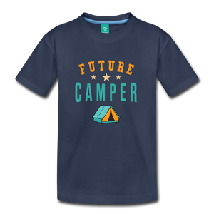 Toddler Future Camper T-Shirt - navy