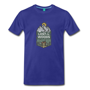 Men's Lost T-Shirt - royal blue