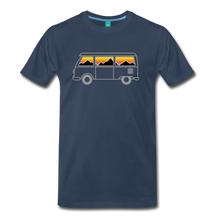 Load image into Gallery viewer, Men's Van Mountains T-Shirt - navy