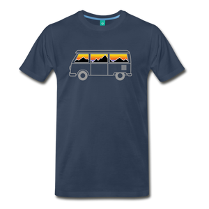 Men's Van Mountains T-Shirt - navy