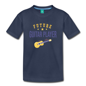 Toddler Guitar Player T-Shirt - navy