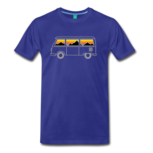 Men's Van Mountains T-Shirt - royal blue