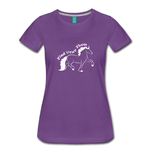 Women's Find Your Flow T-Shirt - purple