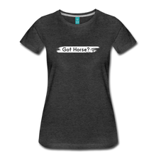 Load image into Gallery viewer, Women's Got Horse T-Shirt - charcoal gray
