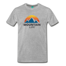 Load image into Gallery viewer, Mountain Life Shirt - heather gray