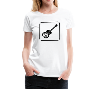 Women's Dobro Icon T-Shirt - white