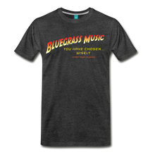 Load image into Gallery viewer, Men's Bluegrass Chosen Wisely T-Shirt - charcoal gray
