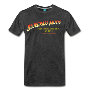 Men's Bluegrass Chosen Wisely T-Shirt - charcoal gray