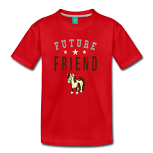 Load image into Gallery viewer, Kids' Future Friend T-Shirt - red