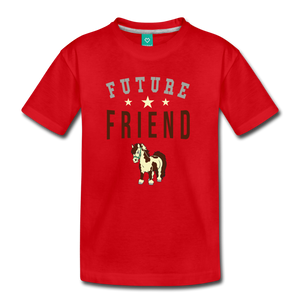 Kids' Future Friend T-Shirt - red