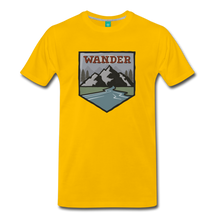 Load image into Gallery viewer, Men's Wnderer T-Shirt - sun yellow