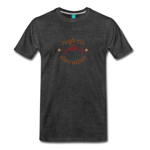 Men's High on Elevation T-Shirt - charcoal gray