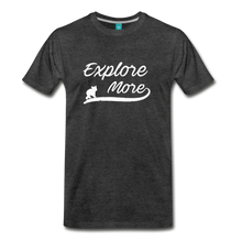 Load image into Gallery viewer, Men's Explore More T-Shirt - charcoal gray