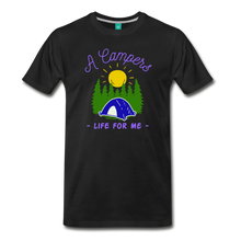 Load image into Gallery viewer, Men's Campers Life T-Shirt - black