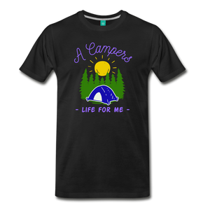 Men's Campers Life T-Shirt - black