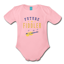 Load image into Gallery viewer, Future Fiddler Baby Bodysuit - light pink