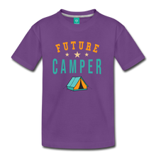 Load image into Gallery viewer, Kids' Future Camper T-Shirt - purple