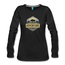 Load image into Gallery viewer, Women's Adventure Life Long Sleeve Shirt - black