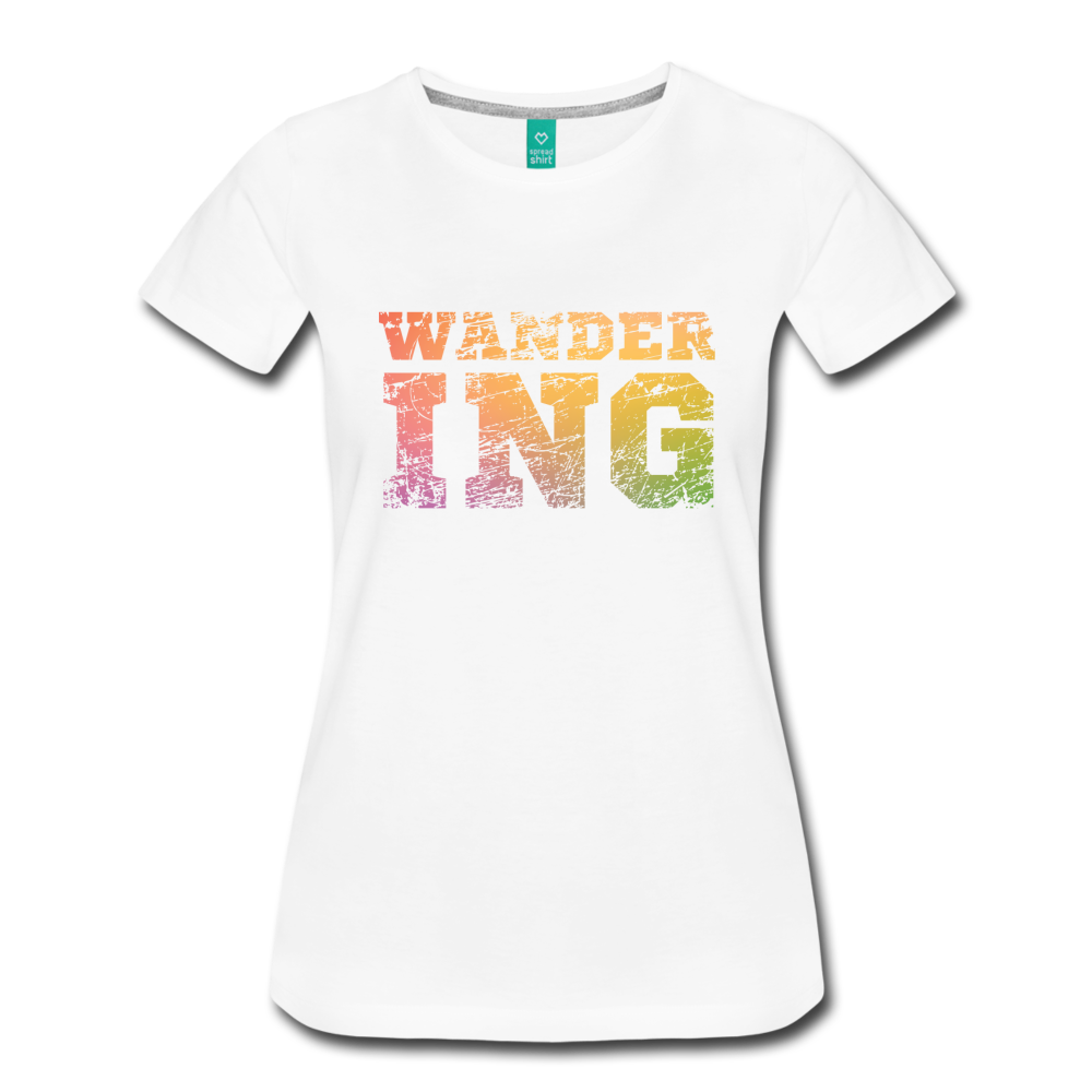 Women's Wandering T-Shirt - white