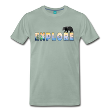 Load image into Gallery viewer, Men's Explore T-Shirt - steel green