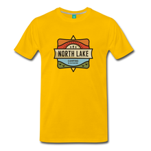 Load image into Gallery viewer, Men's North Lake T-Shirt - sun yellow