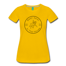 Load image into Gallery viewer, Women's Best Seat in the House T-Shirt - sun yellow