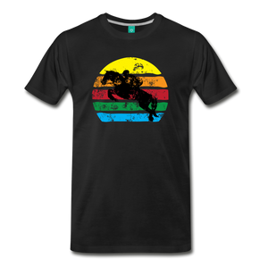 Men's Jumping Sun T-Shirt - black