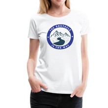 Load image into Gallery viewer, Women's Obstacle is the Way T-Shirt - white