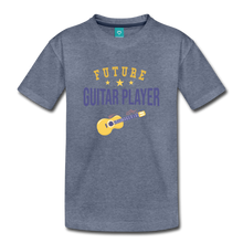 Load image into Gallery viewer, Toddler Guitar Player T-Shirt - heather blue